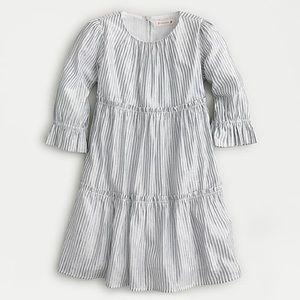 NWT Crewcuts Girls' tiered dress